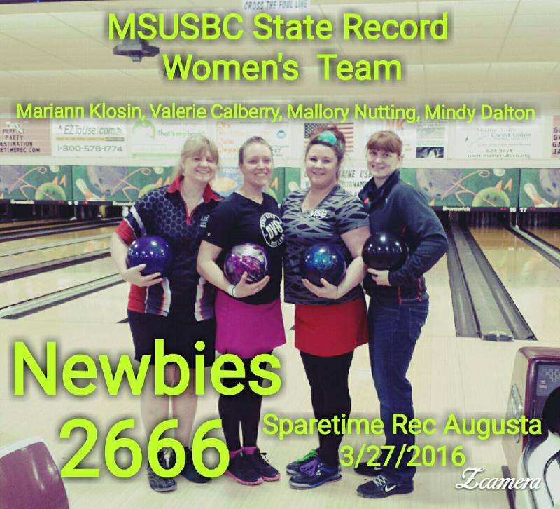 State Record Newbies.